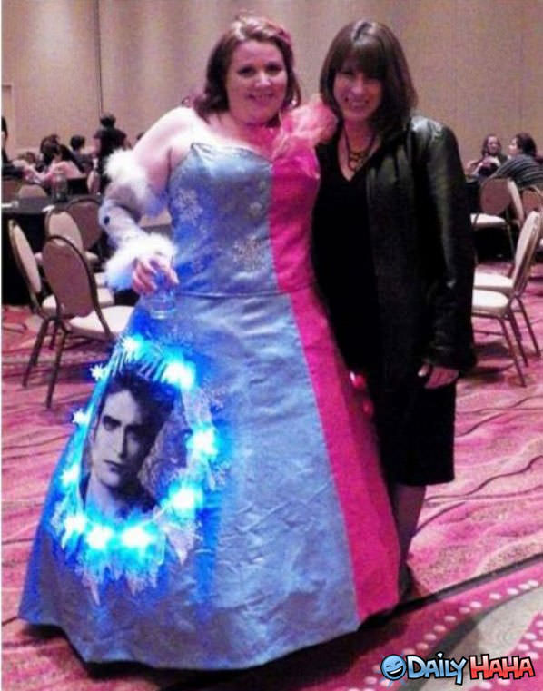 Twilight Dress funny picture