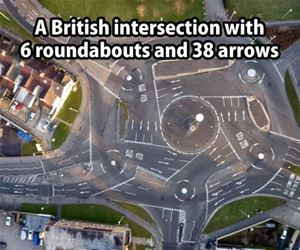 the british love roundabouts funny picture