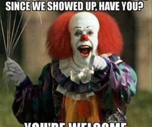 the clowns are good for something funny picture