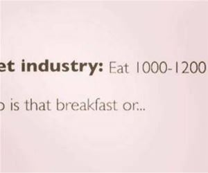 the diet industry funny picture