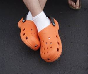 the little holes in crocs funny picture
