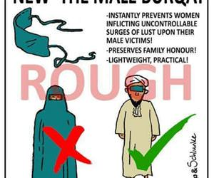 the male burqa funny picture