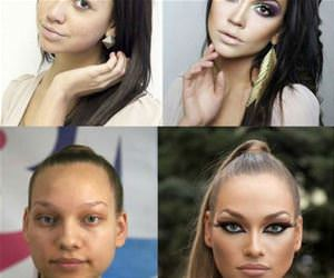 the power of makeup funny picture