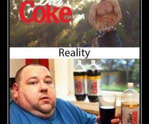the reality of diet coke funny picture