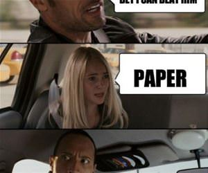 the rock funny picture