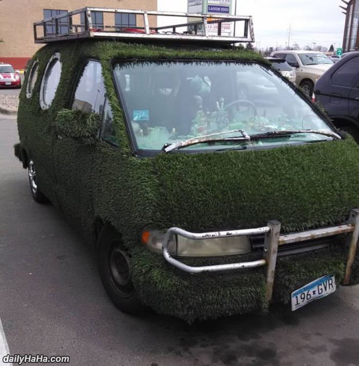 the ultimate green car funny picture