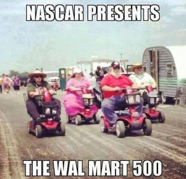the walmart 500 funny picture