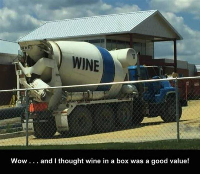 the wine truck funny picture