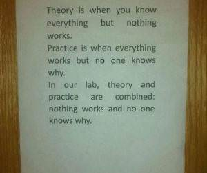 Theory and Practice funny picture