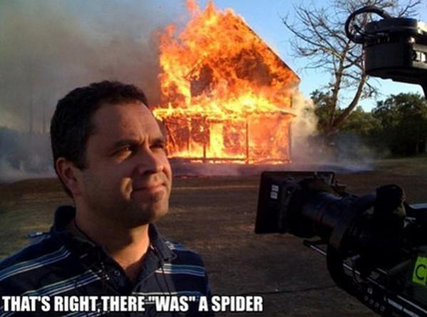 There Was A Spider funny picture