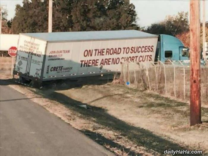 there are no shortcuts funny picture
