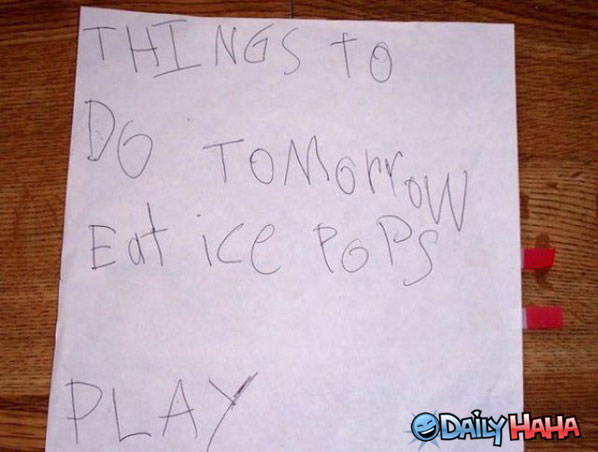 To Do List funny picture