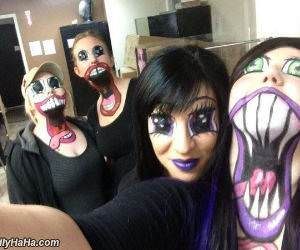 this crazy makeup funny picture