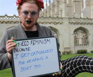 this dude needs feminism funny picture