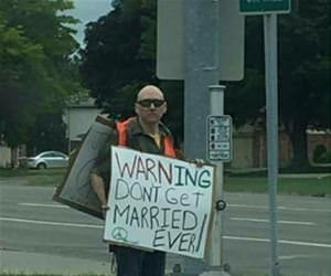 this guy has a warning for everyone funny picture