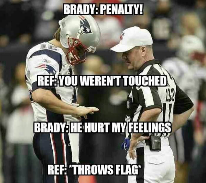 throw the flag ref