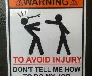 to avoid injury funny picture