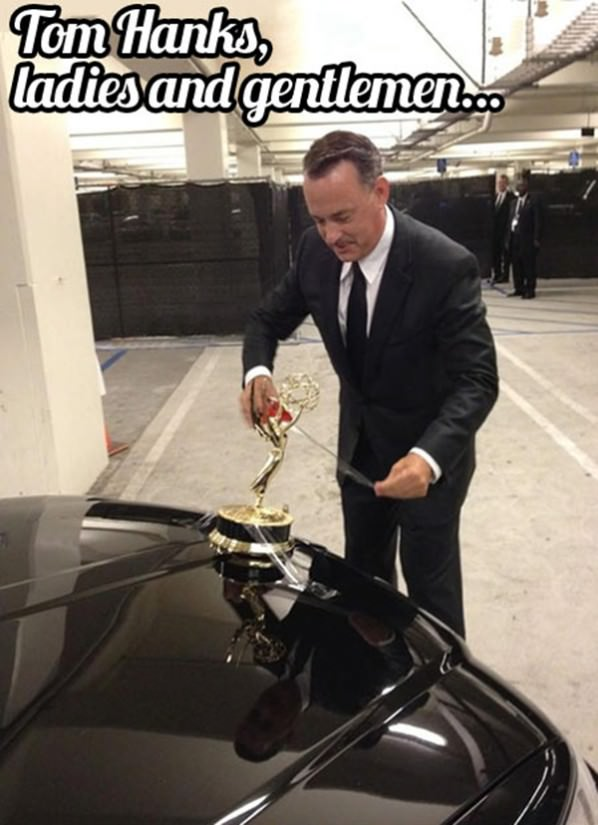 Tom Hanks funny picture