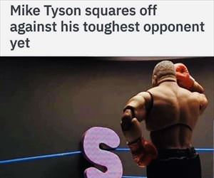toughest opponent yet
