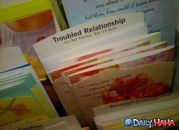 Troubled Relationship funny picture