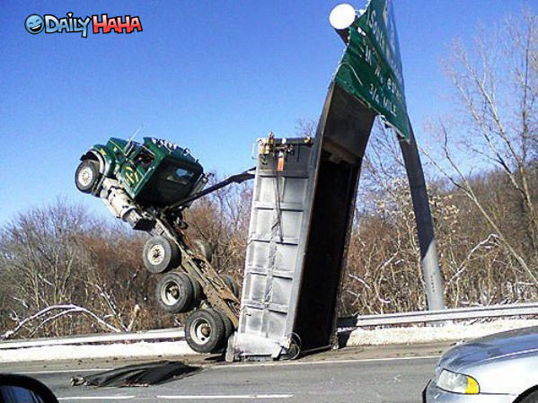 Truck Driving 101 funny picture