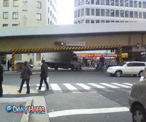 Truck Underpass Crash