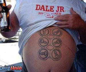 True Six Pack Funny Picture