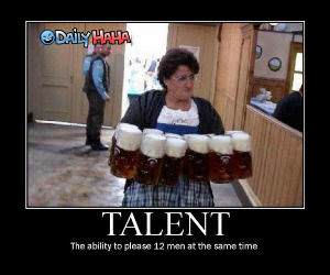 True talent - Beer