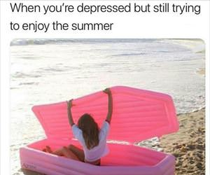 trying to enjoy the summer