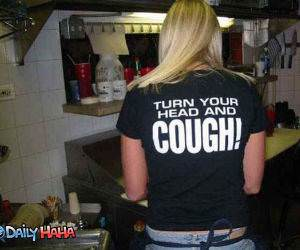 Turn head and cough Pic