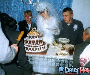 Very Happy Wedding Picture
