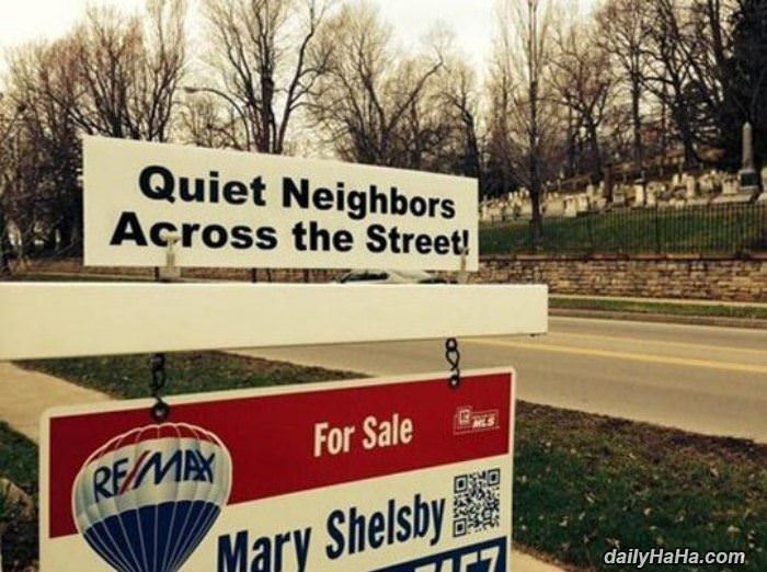 very quiet neighbors funny picture
