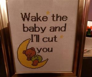 wake the baby up funny picture