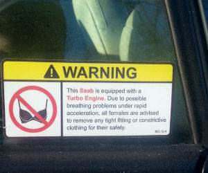 warning sticker funny picture