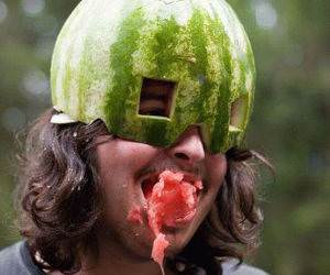 Watermelon Head Picture