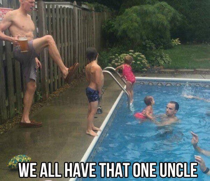 we all have that one uncle funny picture