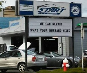we can repair it funny picture