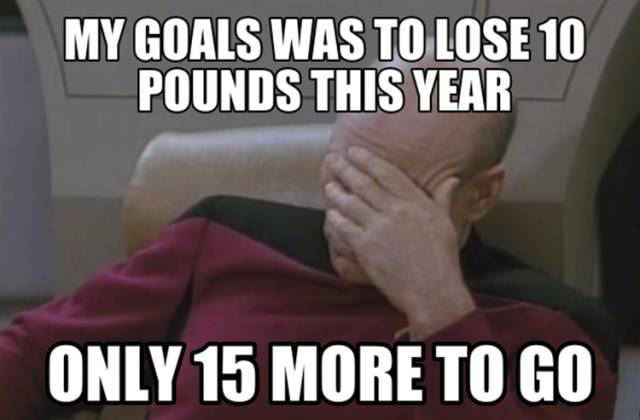 weight loss goals funny picture
