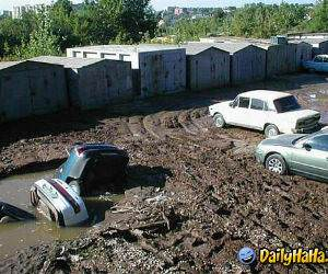Sinking Cars