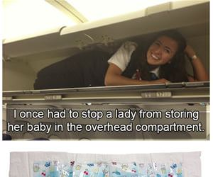 weird things flight attendants