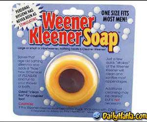 This is a weird type of soap...