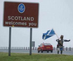 Welcome To Scotland funny picture