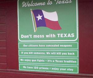 Welcome to Texas funny picture