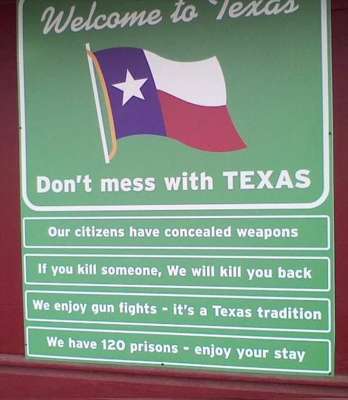 welcome to texas ... 2