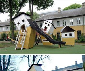 what a cool playground