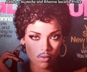 what a mustache can do funny picture