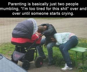 what parenting is like funny picture