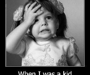 When I Was a Kid funny picture