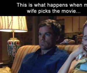 when the wife picks the movie