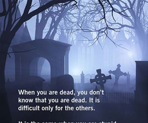 when you are dead funny picture